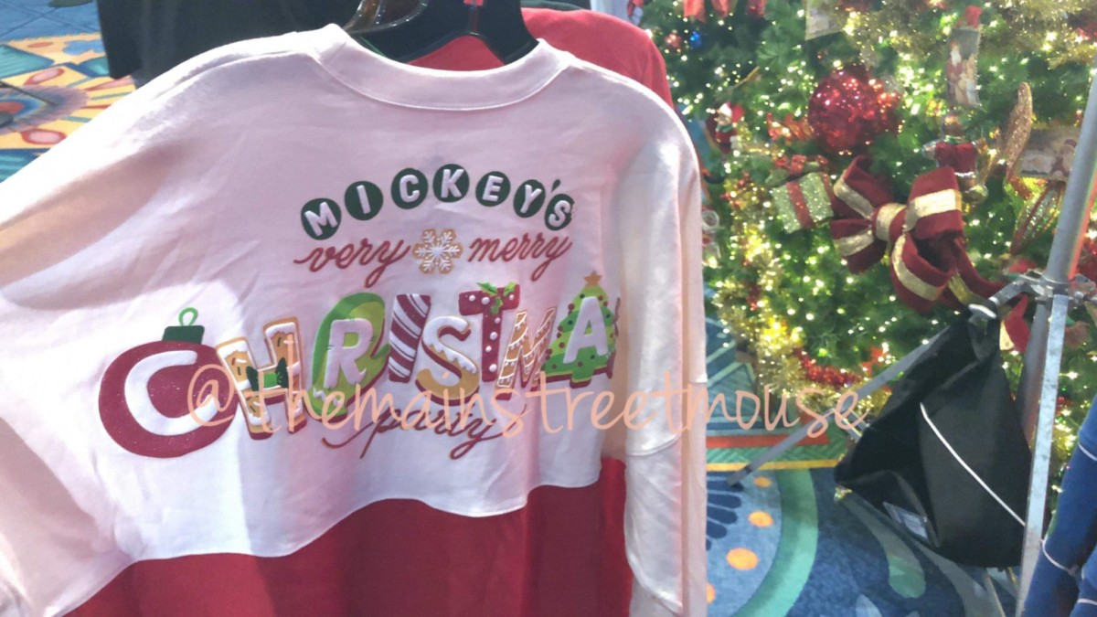 Four New Christmas Spirit Jerseys are Coming to Disney Parks #disneyholidays 4