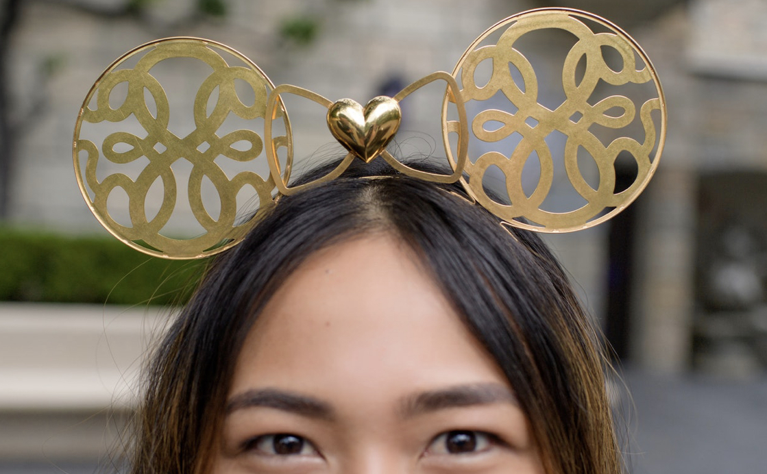 New designer Alex and Ani Golden Minnie ears coming soon! #disneystyle 2