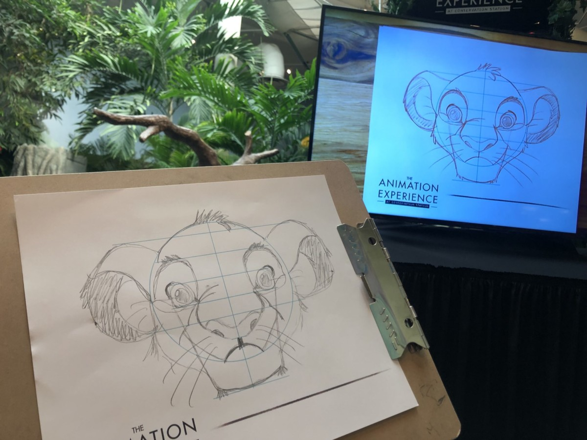 Learn to Draw: Simba from 'The Lion King'  2