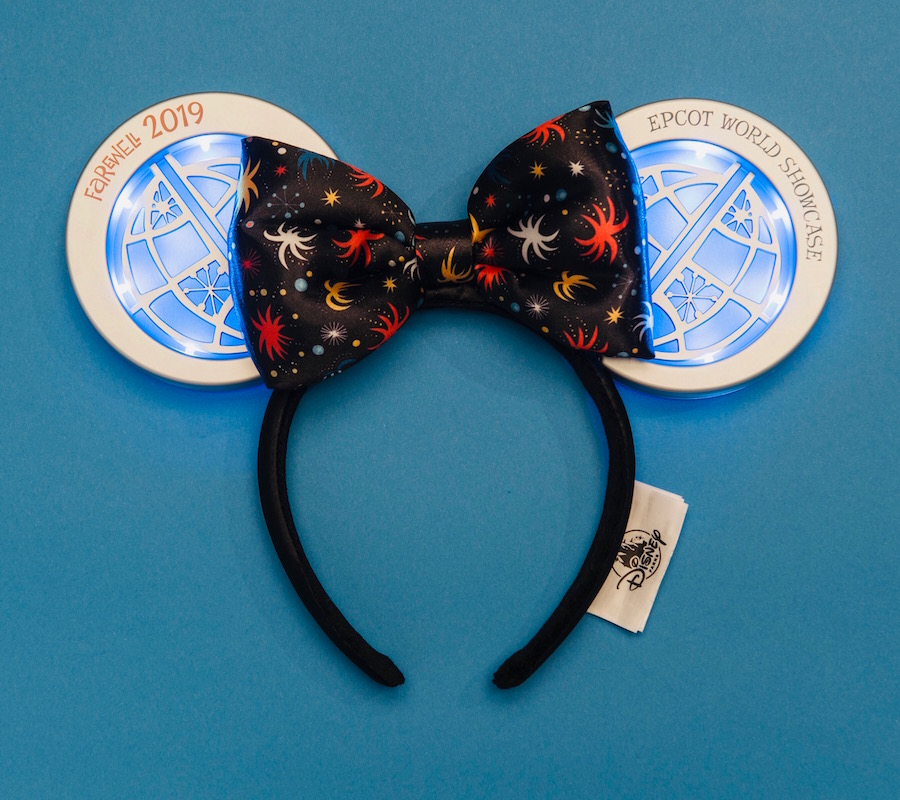 New Light-Up Headband Celebrating 'IllumiNations: Reflections of Earth' Now Available at Epcot 2
