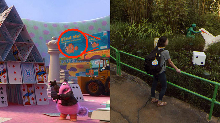 Pixar Easter Eggs Hidden in Google Street View Imagery of Toy Story Land at Disney's Hollywood Studios 7