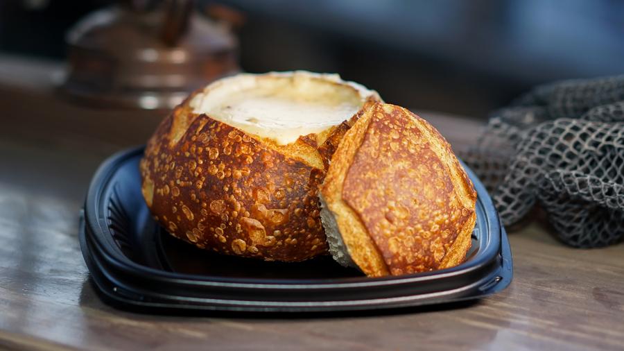 Sourdough Bread Bowl from Pacific Wharf Café at Disney California Adventure Park