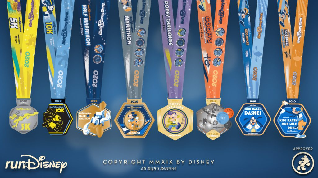 runDisney Medal Design Reveal: 2020 Walt Disney World Marathon Weekend 1