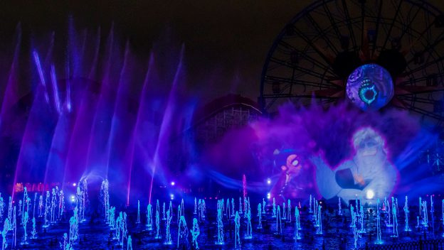 A Wickedly Fun Reveal: 'World of Color' Nighttime Spectacular – 'Villainous!', Debuting at Oogie Boogie Bash – A Disney Halloween Party at Disney California Adventure Park 5
