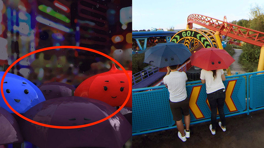 Pixar Easter Eggs Hidden in Google Street View Imagery of Toy Story Land at Disney's Hollywood Studios 6
