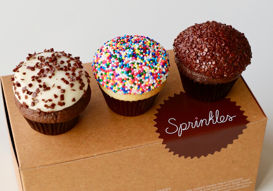 Mini Cupcakes from Sprinkles Cupcakes at the Downtown Disney District
