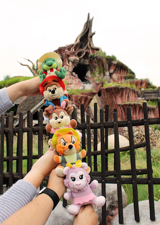 Splash Mountain Wishables Collection