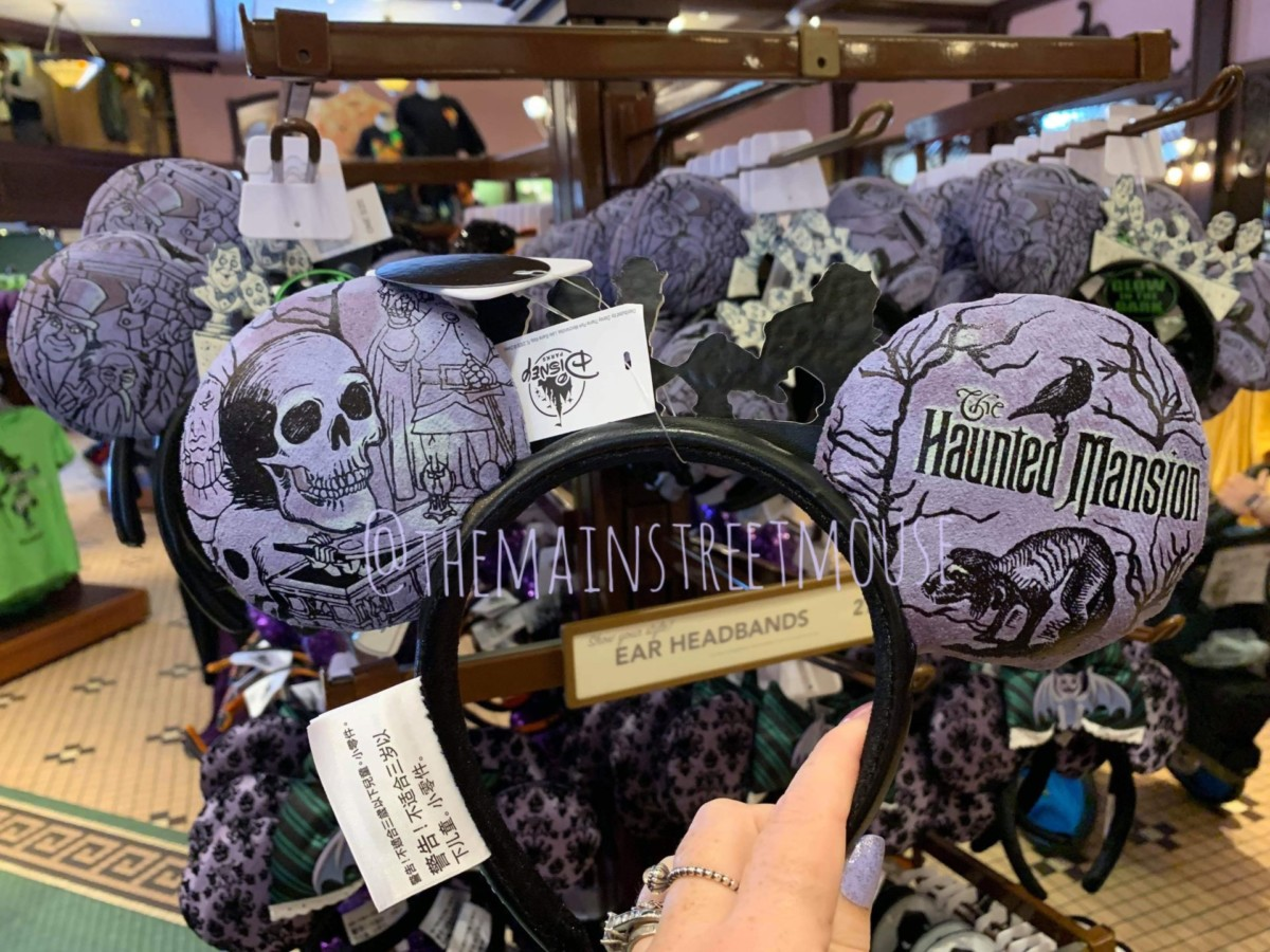 New Haunted Mansion Ears at Disneyland! 3