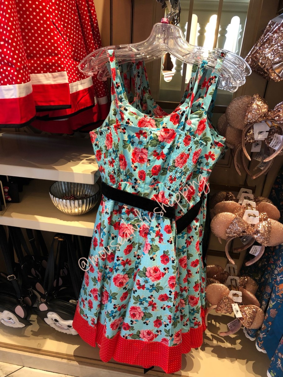 Show Your Minnie Style In This New Floral Dress 3
