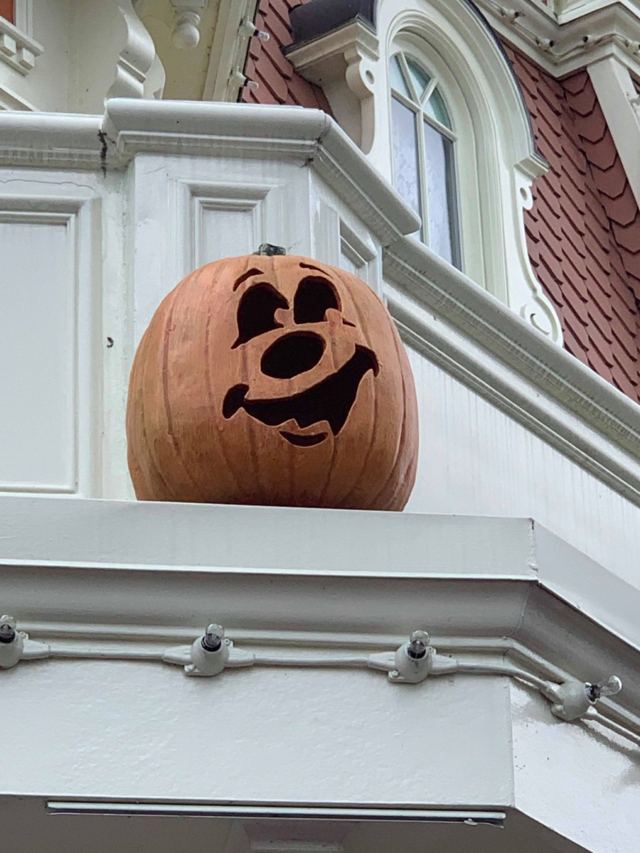 Pumpkins on Main Street USA, Magic Kingdom 1