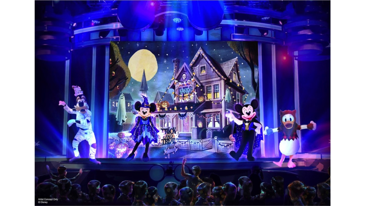 A Splendidly Spooky Time for Kids at Oogie Boogie Bash – A Disney Halloween Party at Disney California Adventure Park 1