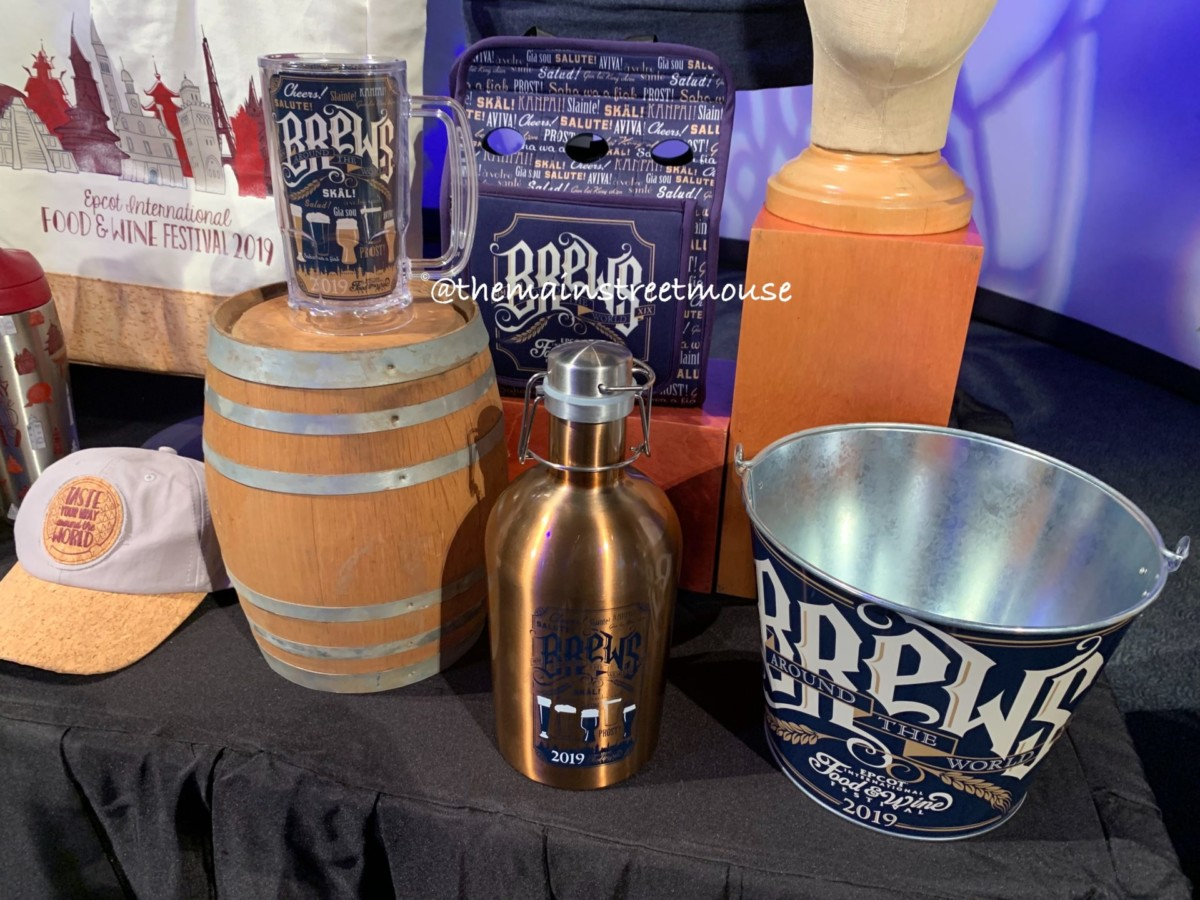 See the NEW Merchandise for the 2019 Epcot International Food and Wine Festival! #tasteepcot 7