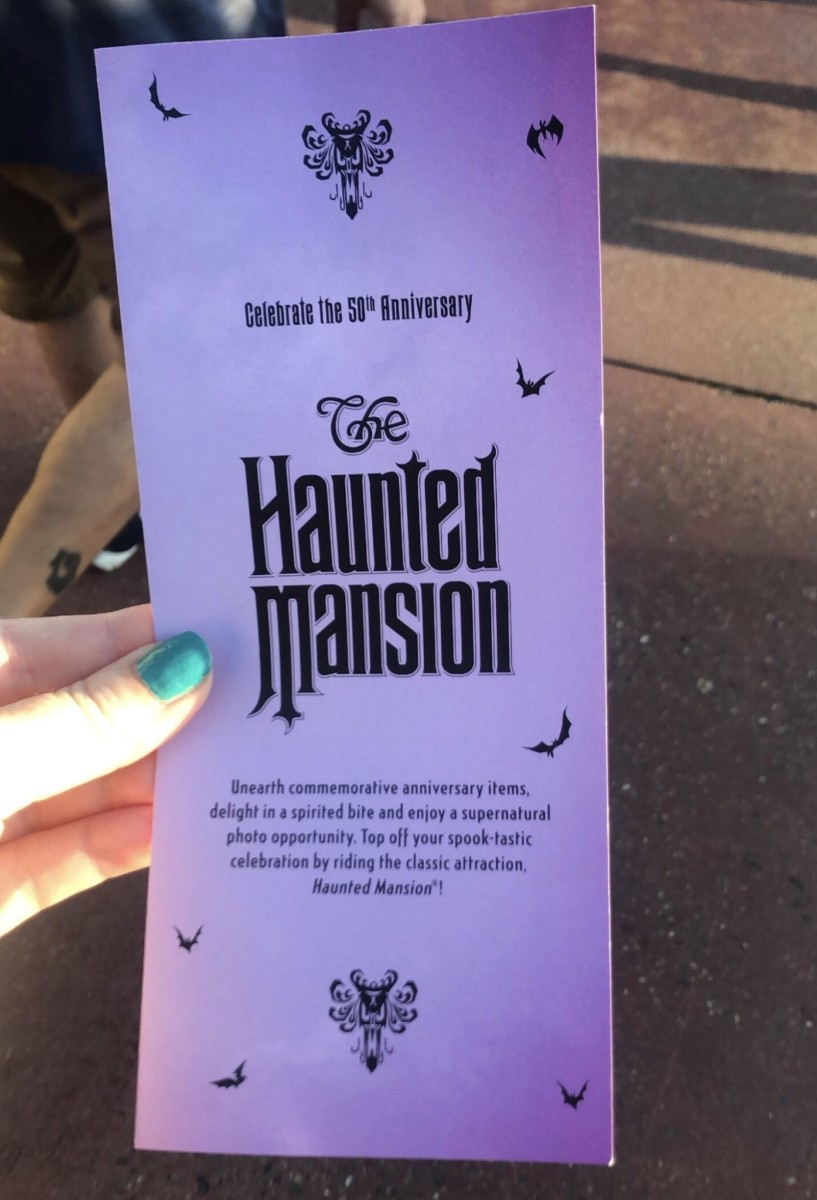 Celebrate the Haunted Mansion at Magic Kingdom! Pics from this Morning! 2