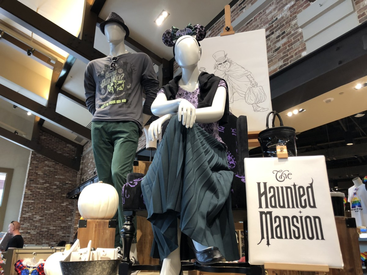 New Haunted Mansion Merch Available at Disney Springs 2