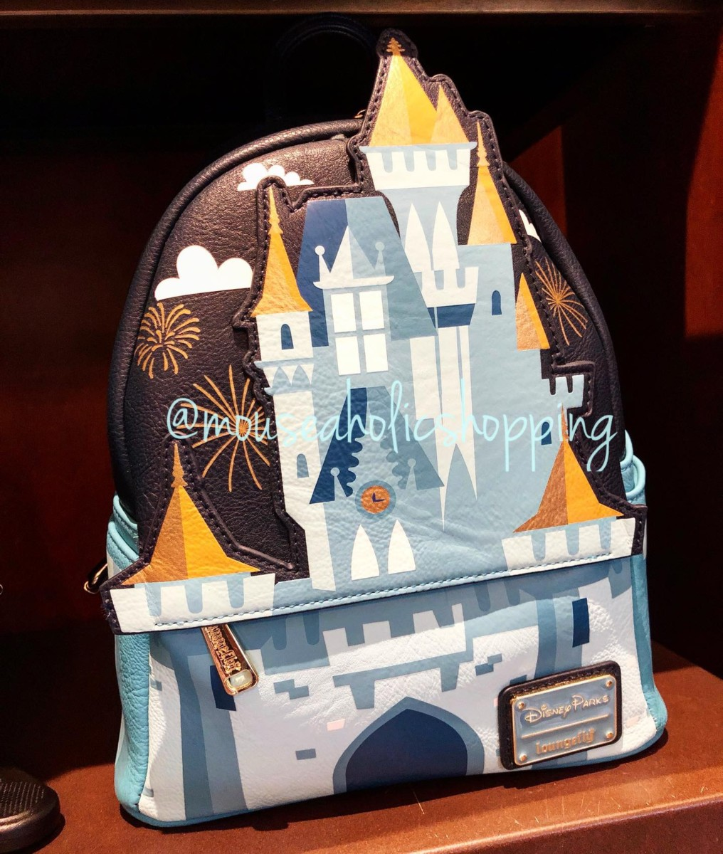 A Dreamy New Cinderella Castle Mini-Backpack by Loungefly 4