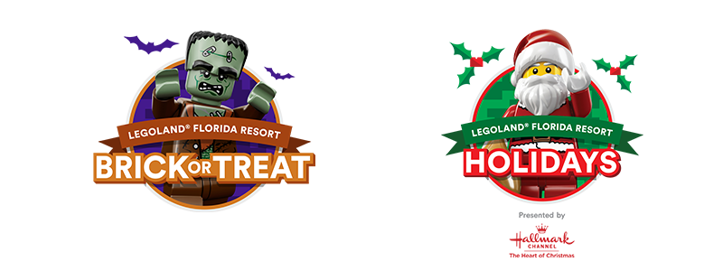 LEGOLAND® Florida Resort Announces Event Details for a Fun-Filled Holiday Season With Brick or Treat and Holidays Presented by Hallmark Channel 2
