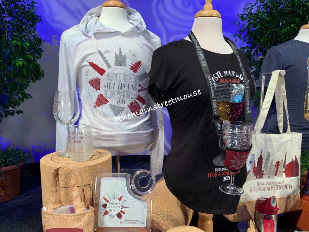 See the NEW Merchandise for the 2019 Epcot International Food and Wine Festival! #tasteepcot 6