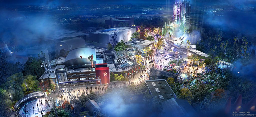 More Park Info News...Details Revealed for Avengers Campus and Other New Experiences Coming to Disneyland Resort 1