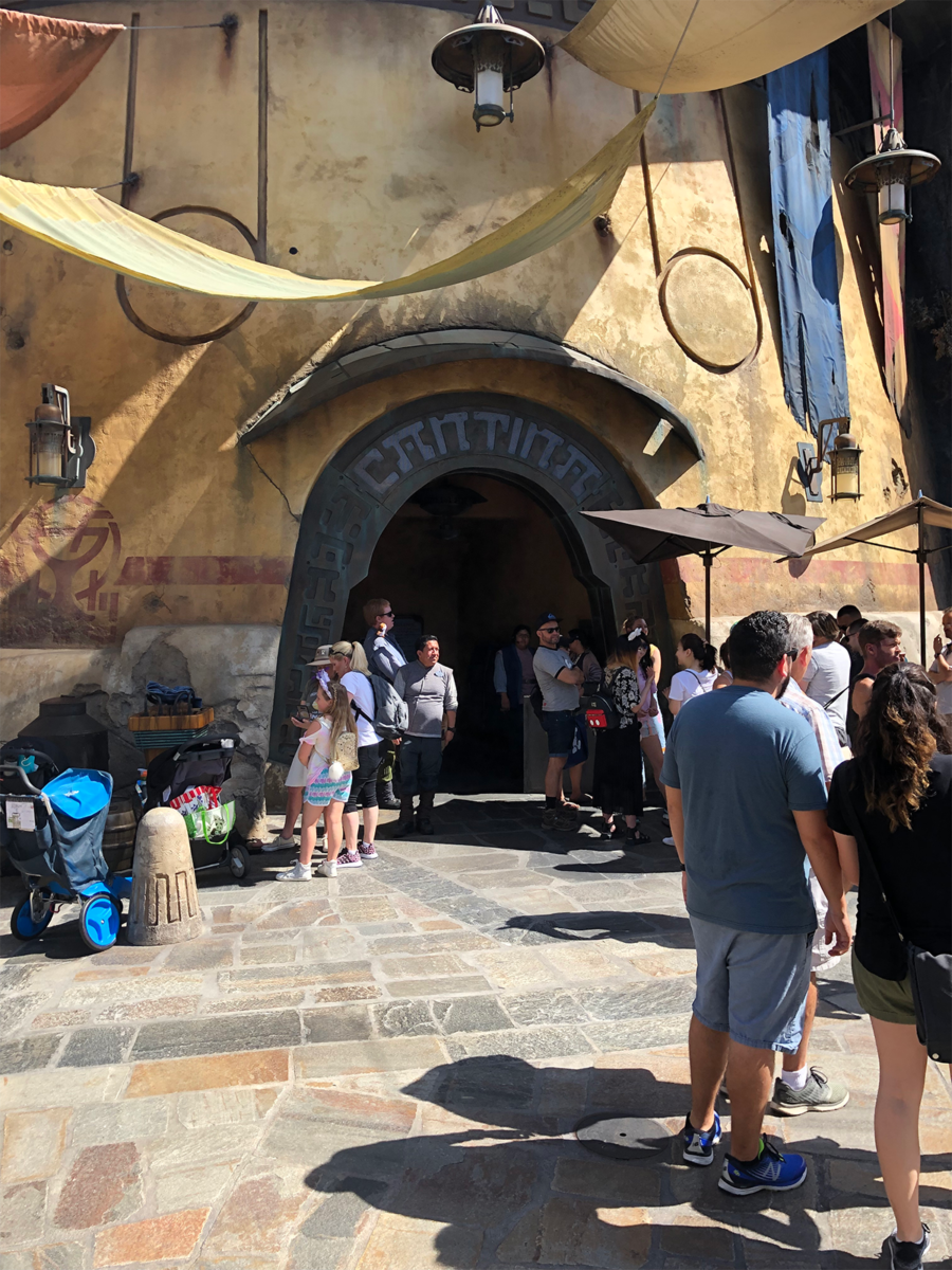 "The New ""Most Wretched Hive of Scum and Villainy"": A Review of Oga's Cantina at Star Wars: Galaxy's Edge 1"
