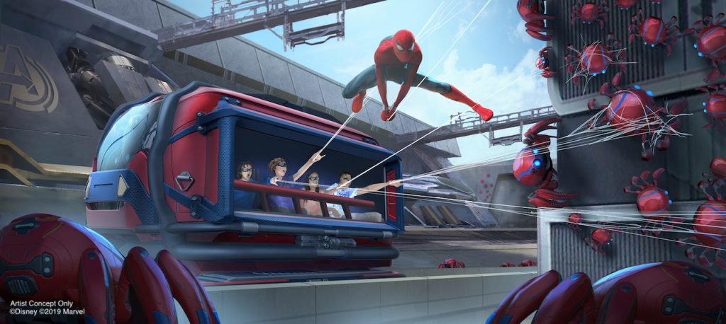 Marvel News: Super Heroes Preparing to Assemble at Disney Parks Around the World 3