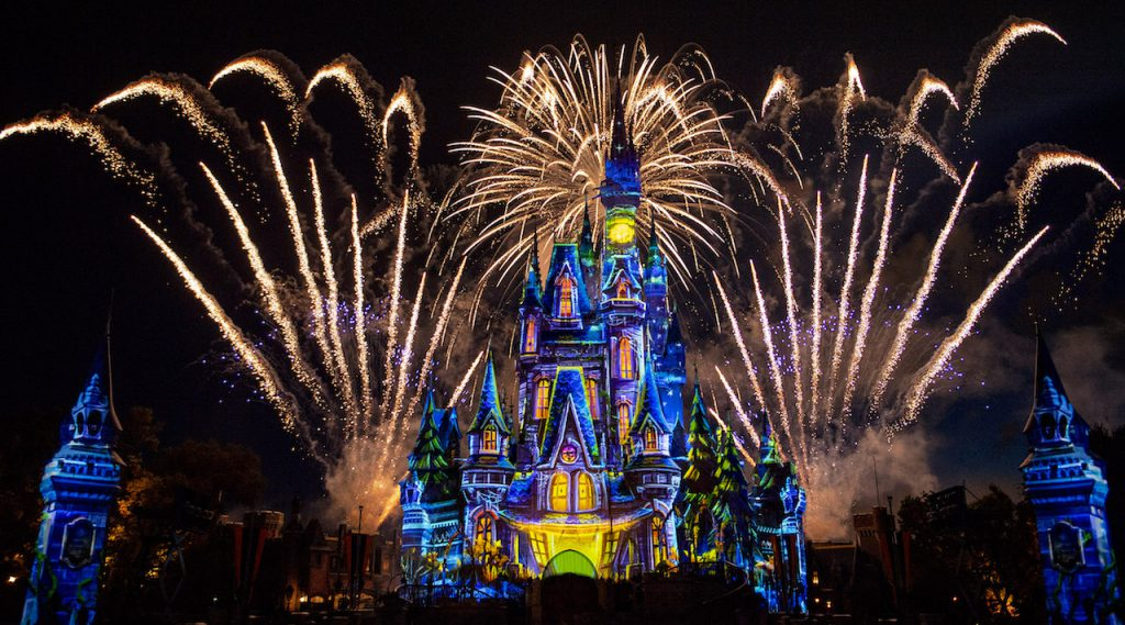 What's This? A First Look at the Jack Skellington-Hosted 'Disney's Not So Spooky Spectacular' Fireworks!? 2
