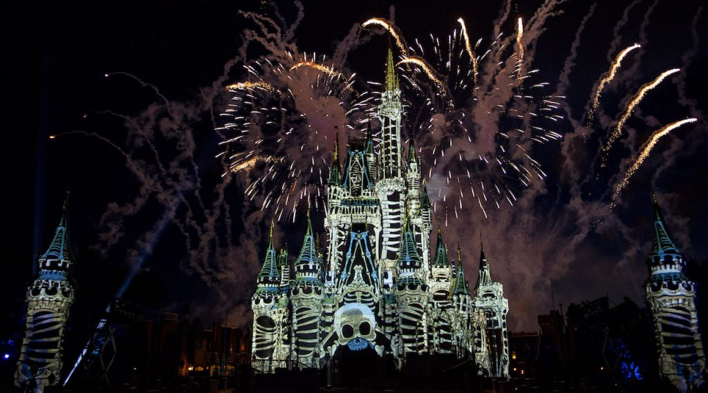 What's This? A First Look at the Jack Skellington-Hosted 'Disney's Not So Spooky Spectacular' Fireworks!? 3