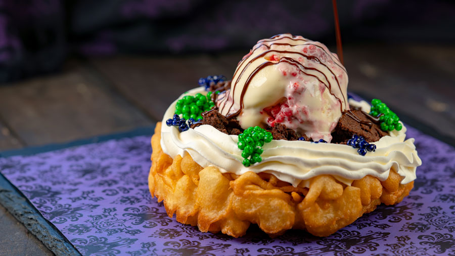 Dead-cadent Funnel Cake from Hungry Bear Restaurant at Disneyland Park