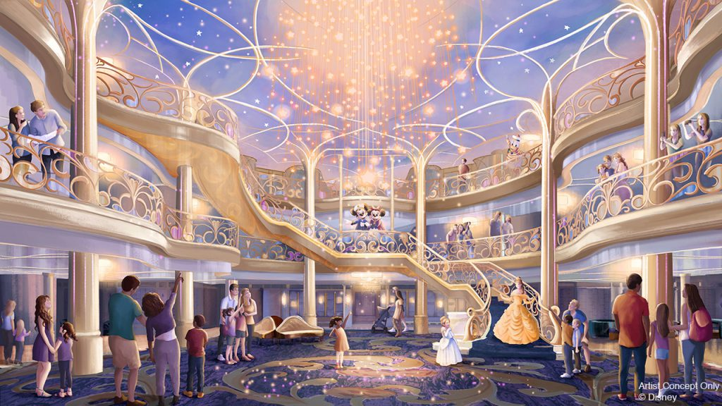 Breaking Cruise News: Get a First Look at the Next Disney Cruise Line Ship and New Disney Island Destination 3
