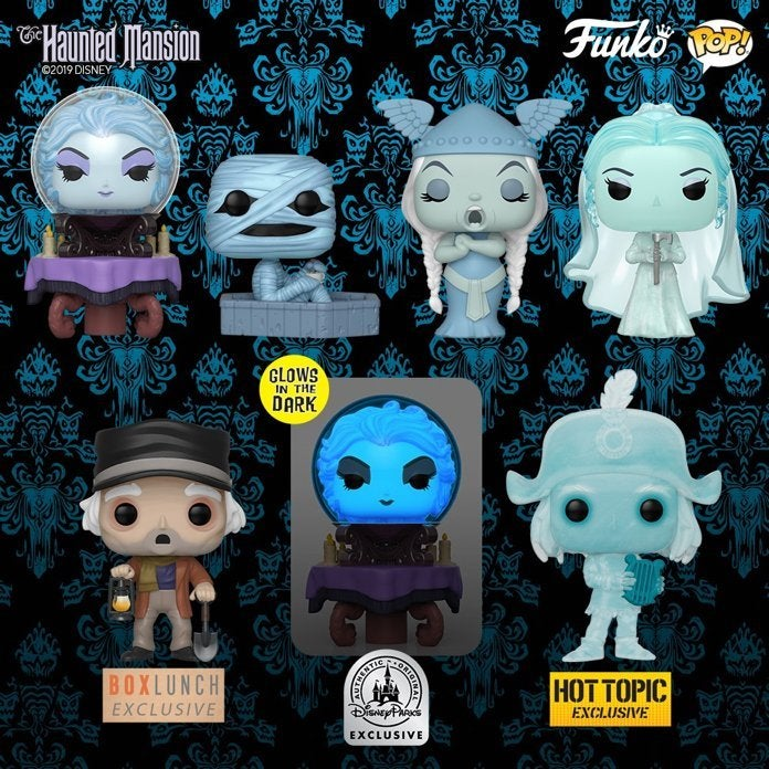 Coming Soon From Funko, The Haunted Mansion 5