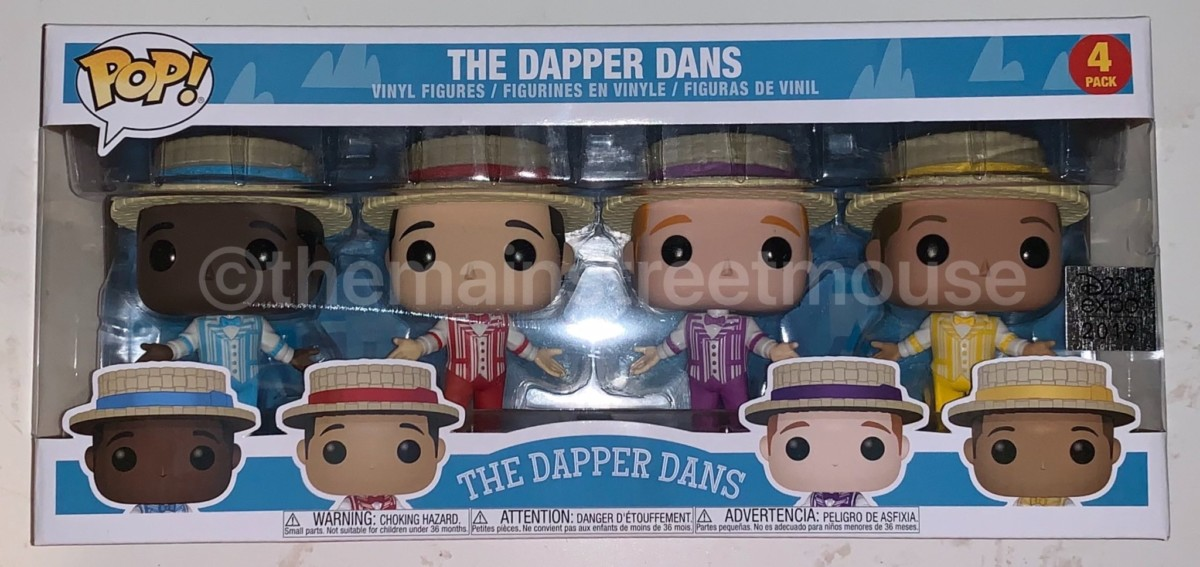 Haunted Mansion And Dapper Dan's Funko Items 13