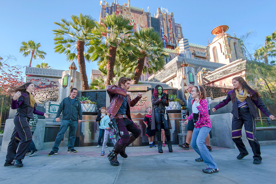 Guardians of the Galaxy: Awesome Dance Off! at Disney California Adventure park
