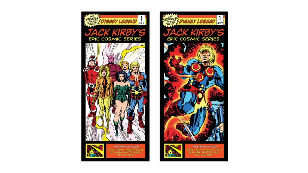 'The Eternals' – Jack Kirby's Cosmic Series Experience Now Open at Walt Disney Presents in Disney's Hollywood Studios 1