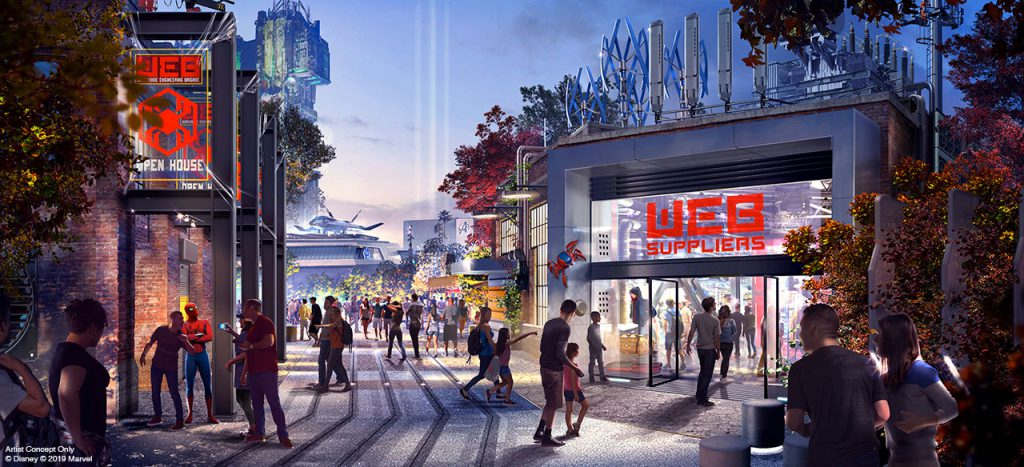 More Park Info News...Details Revealed for Avengers Campus and Other New Experiences Coming to Disneyland Resort 2