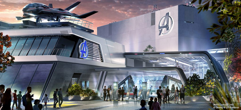 More Park Info News...Details Revealed for Avengers Campus and Other New Experiences Coming to Disneyland Resort 6
