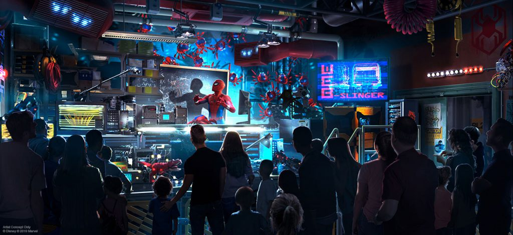 Marvel News: Super Heroes Preparing to Assemble at Disney Parks Around the World 2