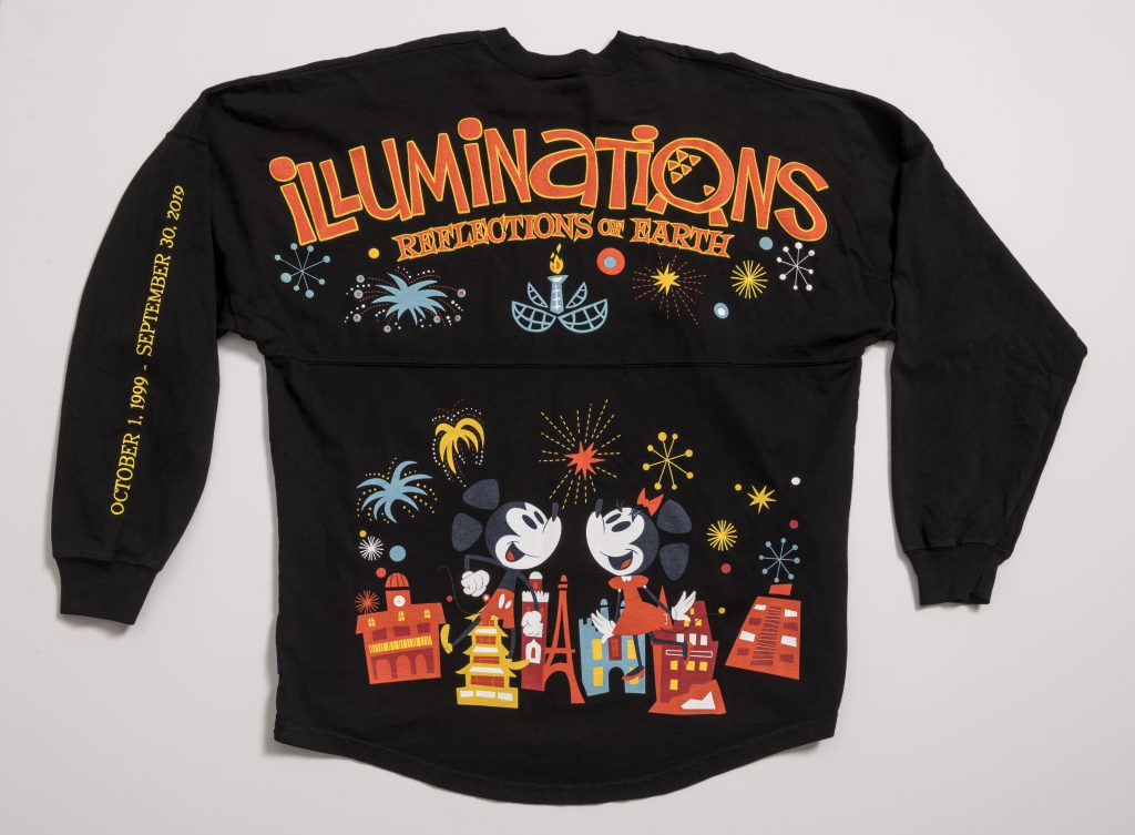 Farewell Illuminations Spirit Jersey Available Now Only at Epcot 3