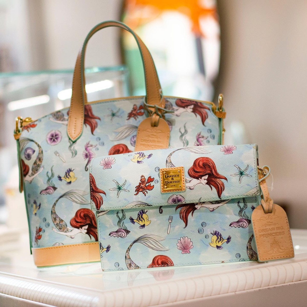 New Ariel Dooney & Bourke Collection Coming this Weekend #disneysprings 2