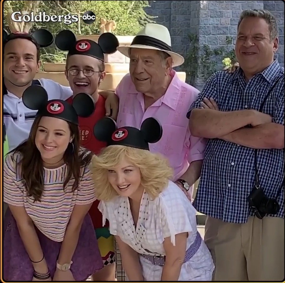 ABC's 'The Goldbergs' Head to Disneyland in the Show's Seventh Season Premiere, Wednesday, Sept. 25 1