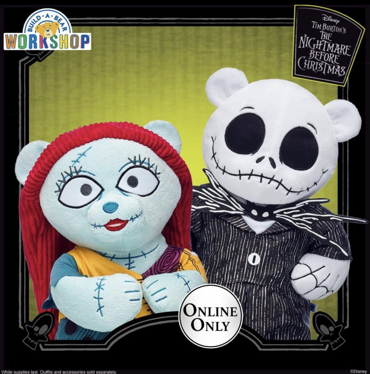 New Jack and Sally Bears from Build A Bear Workshop 8