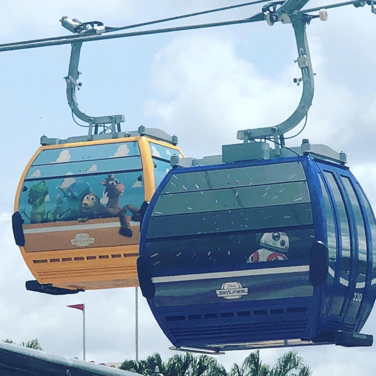 There's Magic in the Air with New Disney Skyliner 1