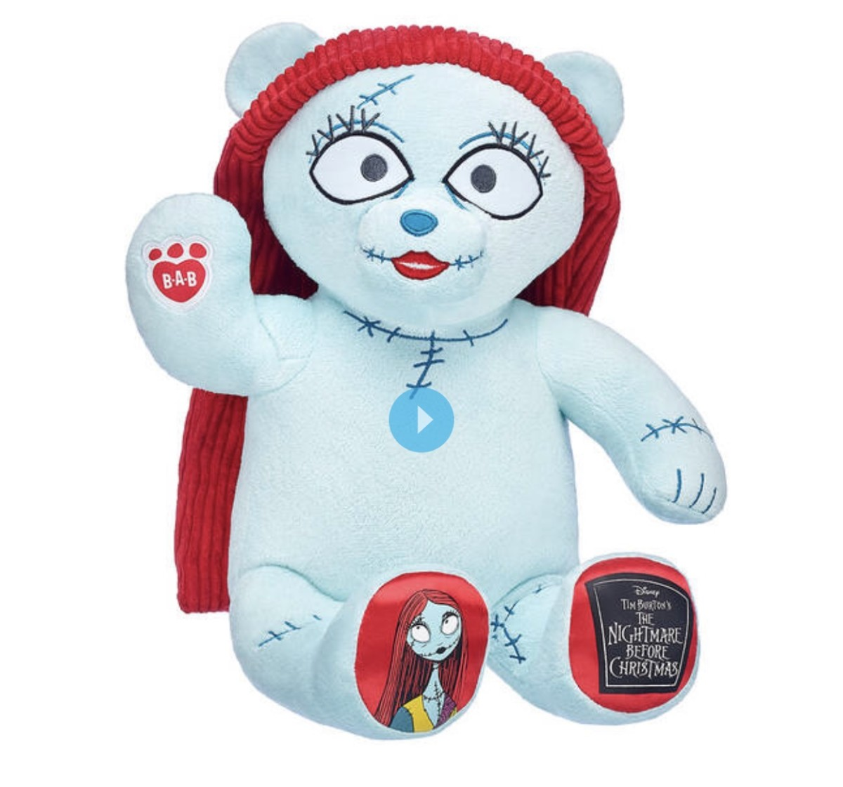 New Jack and Sally Bears from Build A Bear Workshop 2