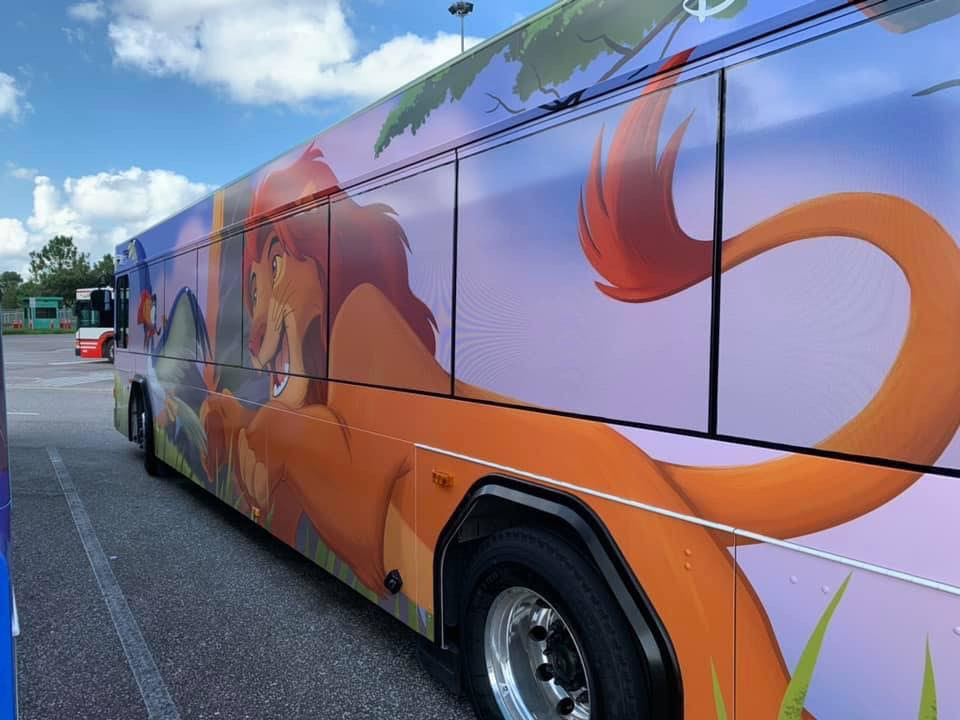 New Character Themes on Some WDW Buses! 2
