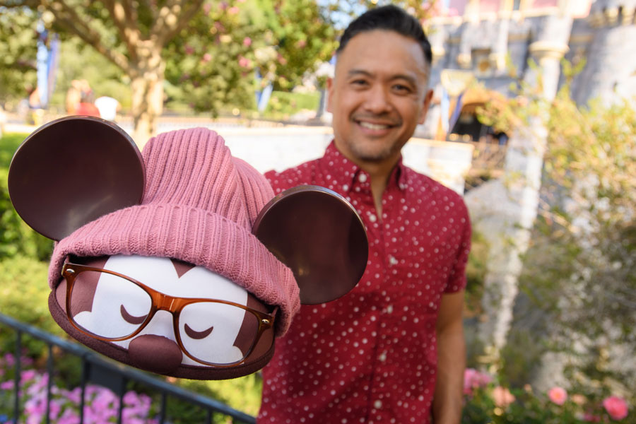 Disney Parks Designer Collection: Hipster Mickey ear hat by Jerrod Maruyama