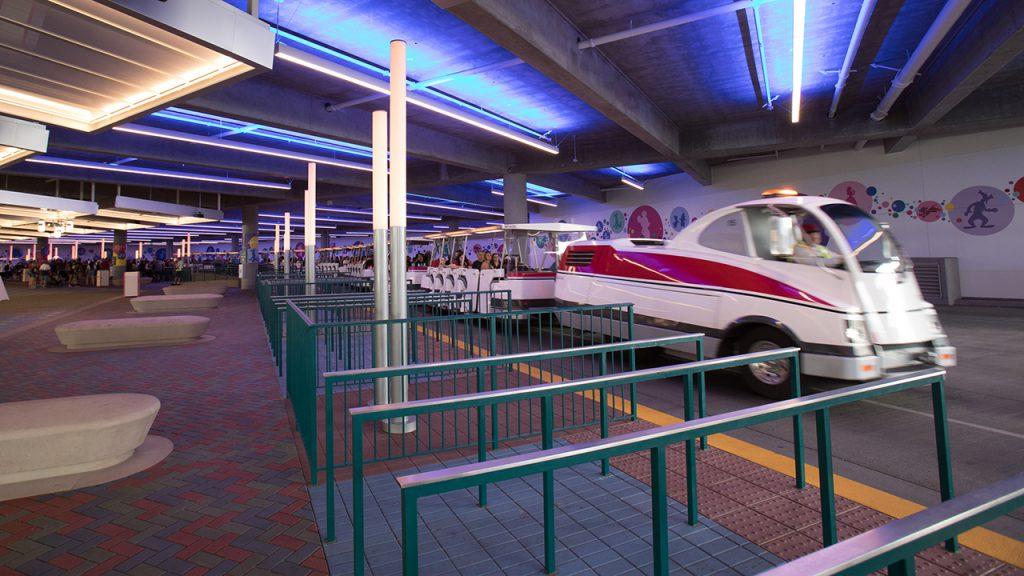New Pedestrian Bridge at Disneyland Resort