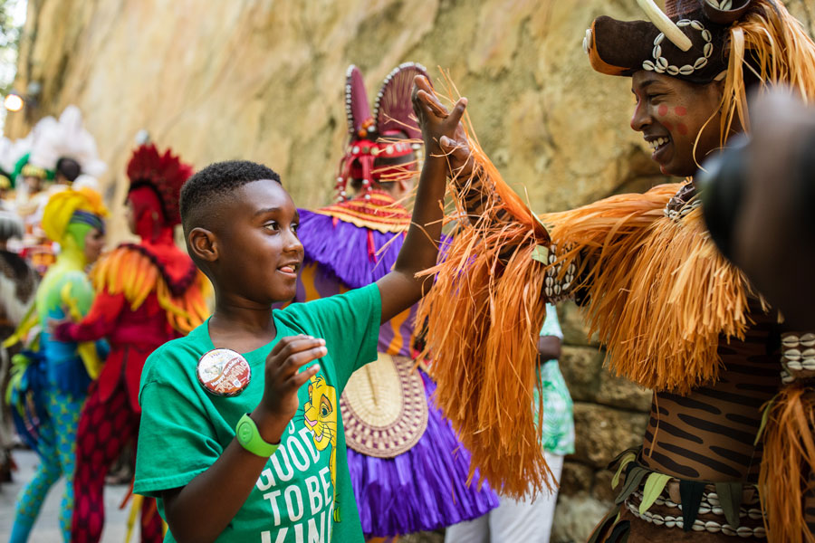 7-Year-Old Jermaine Bell Visits Walt Disney World Resort 3