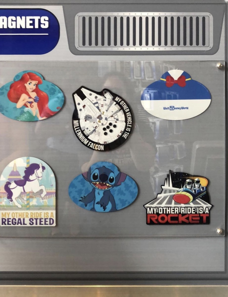 Create Your Own Disney Magnets at Magic Kingdom! 2