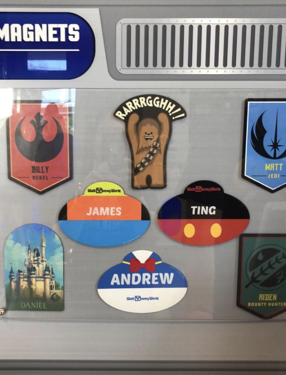Create Your Own Disney Magnets at Magic Kingdom! 5