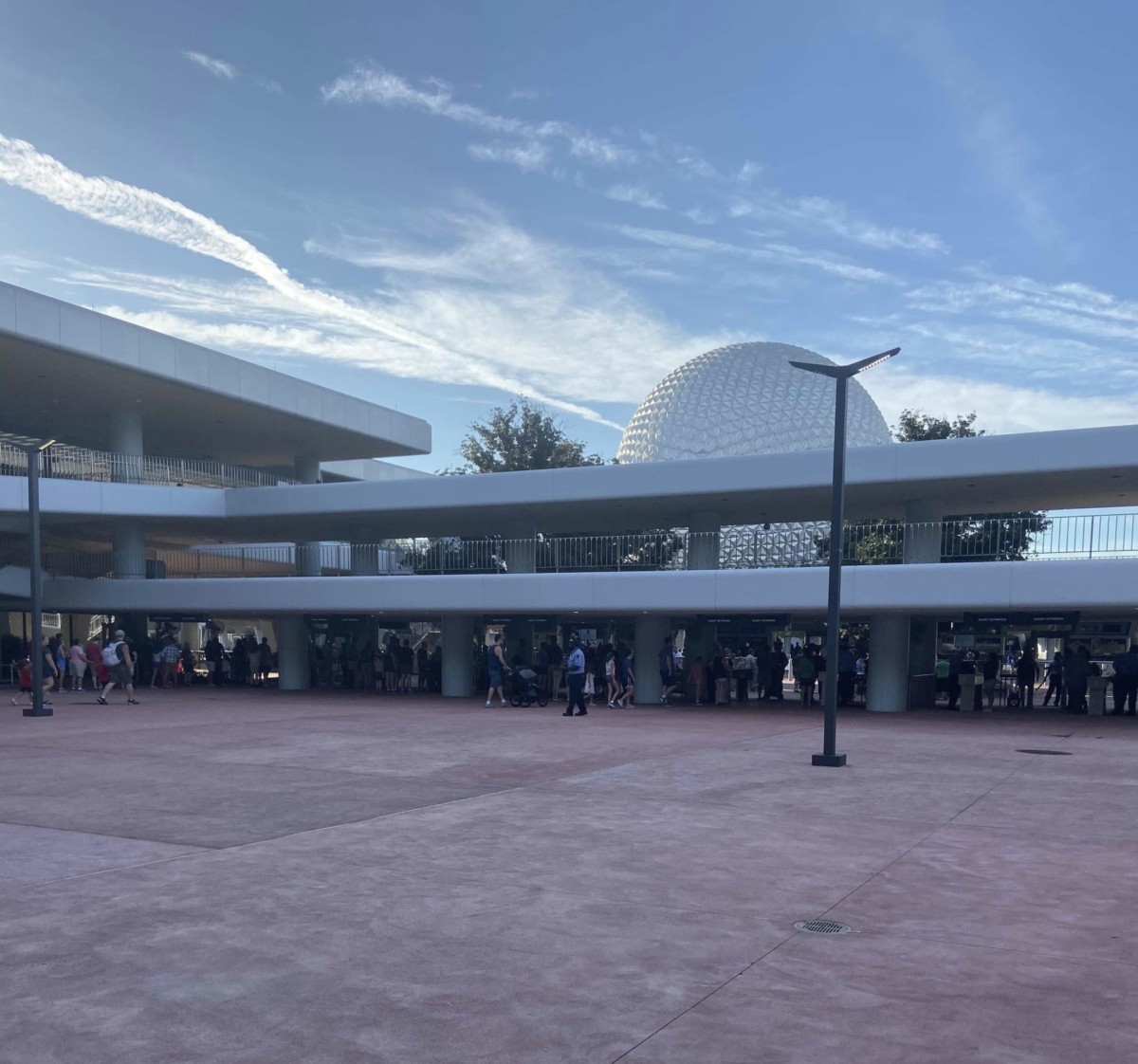 New Security Bag Check Area at Epcot! 4