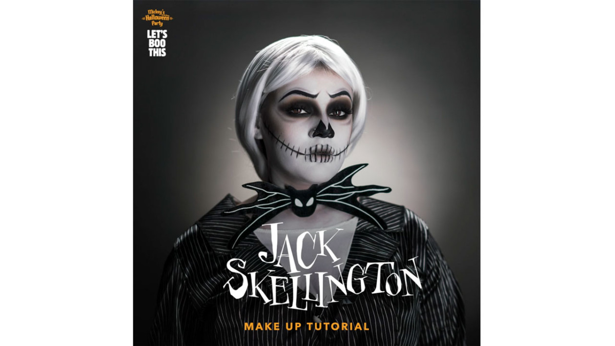 Let's Boo This! A Jack Skellington Makeup Tutorial 3