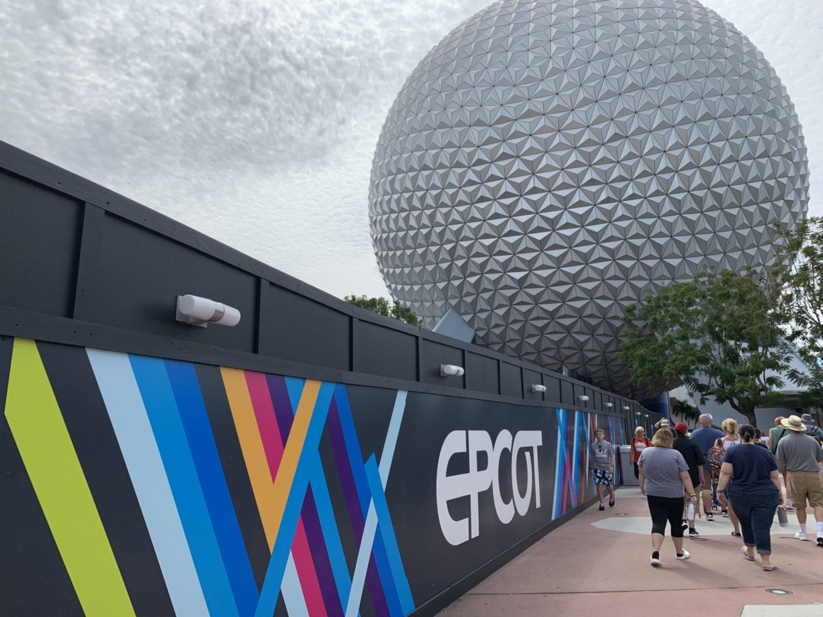 Construction Pics from Epcot 1